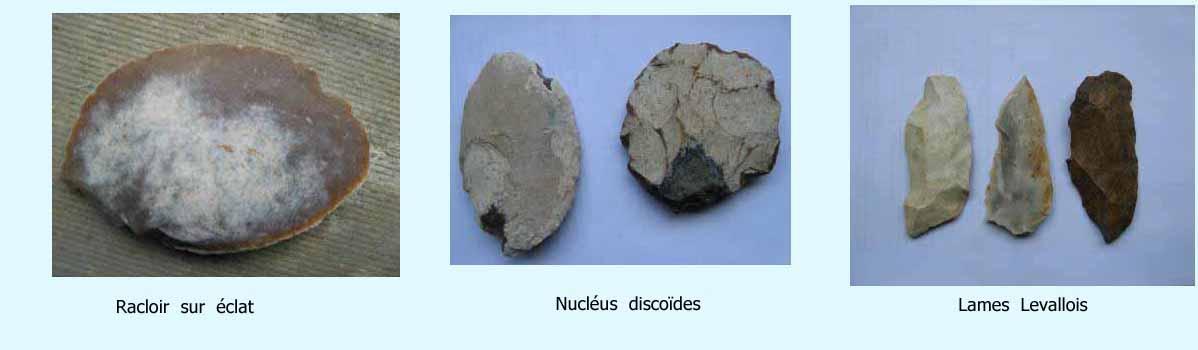 outils hommes préhistoriques